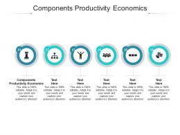 Components Productivity Economics Ppt Powerpoint Presentation Ideas Sample Cpb