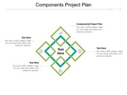 Components Project Plan Ppt Powerpoint Presentation File Files Cpb