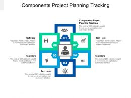Components Project Planning Tracking Ppt Powerpoint Presentation Infographic Template Slides Cpb
