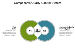 Components Quality Control System Ppt Powerpoint Presentation Styles Guide Cpb