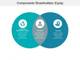 Components Shareholders Equity Ppt Powerpoint Presentation Show Mockup Cpb
