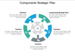 Components Strategic Plan Ppt Powerpoint Presentation File Guide Cpb