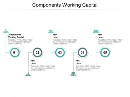 Components Working Capital Ppt Powerpoint Presentation Influencers Cpb