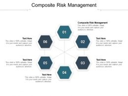 Composite Risk Management Ppt Powerpoint Presentation Layouts Sample Cpb