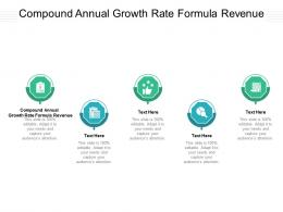 Compound Annual Growth Rate Formula Revenue Ppt Powerpoint Presentation Inspiration Background Images Cpb