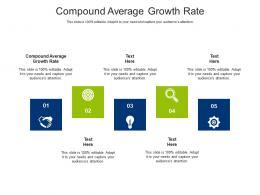 Compound Average Growth Rate Ppt Powerpoint Presentation File Styles Cpb