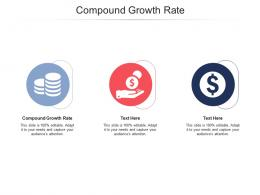 Compound Growth Rate Ppt Powerpoint Presentation File Visual Aids Cpb