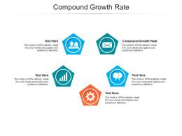 Compound Growth Rate Ppt Powerpoint Presentation Layouts File Formats Cpb