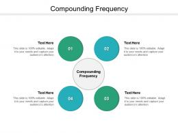 Compounding Frequency Ppt Powerpoint Presentation Infographic Template Diagrams Cpb