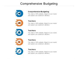 Comprehensive Budgeting Ppt Powerpoint Presentation Samples Cpb