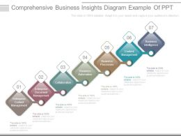 Comprehensive Business Insights Diagram Example Of Ppt