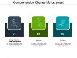 Comprehensive Change Management Ppt Powerpoint Presentation Styles Background Images Cpb