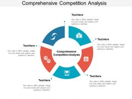 Comprehensive Competition Analysis Ppt Powerpoint Presentation Model Structure Cpb