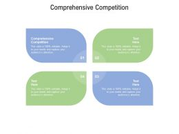 Comprehensive Competition Ppt Powerpoint Presentation Ideas Deck Cpb