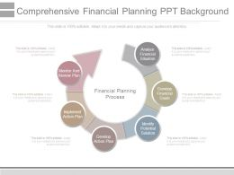 Comprehensive Financial Planning Ppt Background