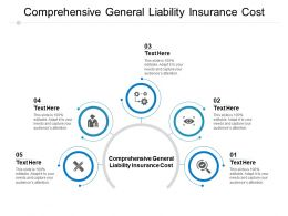 Comprehensive General Liability Insurance Cost Ppt Powerpoint Presentation Summary Graphics Cpb