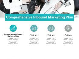 Comprehensive Inbound Marketing Plan Ppt Powerpoint Presentation Icon Styles Cpb