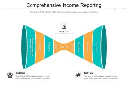 Comprehensive Income Reporting Ppt Powerpoint Presentation Inspiration Diagrams Cpb