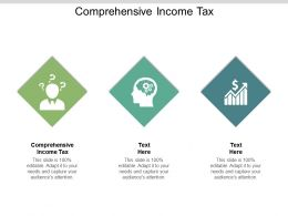 Comprehensive Income Tax Ppt Powerpoint Presentation Model Graphics Example Cpb