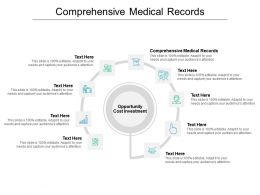 Comprehensive Medical Records Ppt Powerpoint Presentation Icon Templates Cpb