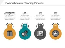 Comprehensive Planning Process Ppt Powerpoint Presentation Infographic Template Outfit Cpb