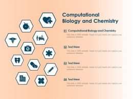 Computational Biology And Chemistry Ppt Powerpoint Presentation Summary Shapes