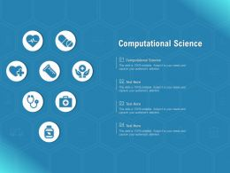 Computational Science Ppt Powerpoint Presentation Styles Slideshow