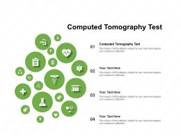 Computed Tomography Test Ppt Powerpoint Presentation Icon