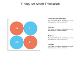 Computer Aided Translation Ppt Powerpoint Presentation Infographics Inspiration Cpb