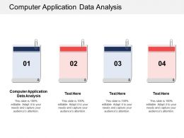 Computer Application Data Analysis Ppt Powerpoint Presentation Icon Inspiration Cpb