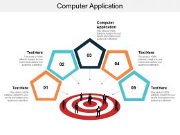 Computer Application Ppt Powerpoint Presentation Icon Slideshow Cpb