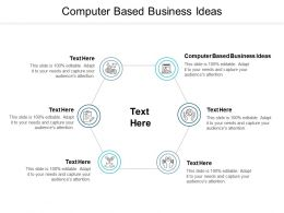 Computer Based Business Ideas Ppt Powerpoint Presentation Icon Aids Cpb