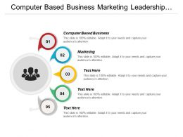 Computer Based Business Marketing Leadership Outsourcing Working Environment