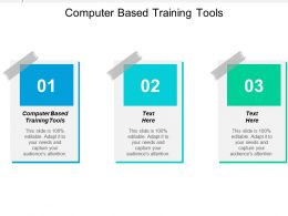 Computer Based Training Tools Ppt Powerpoint Presentation Gallery Format Ideas Cpb