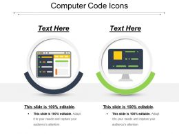 Computer Code Icons