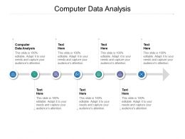 Computer Data Analysis Ppt Powerpoint Presentation Infographics Design Templates Cpb