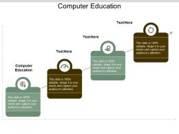 Computer Education Ppt Powerpoint Presentation Gallery Influencers Cpb