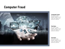 Computer Fraud Ppt Powerpoint Presentation Gallery Display