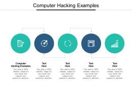 Computer Hacking Examples Ppt Powerpoint Presentation Layouts Designs Cpb