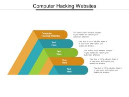 Computer Hacking Websites Ppt Powerpoint Presentation Layouts Gridlines Cpb