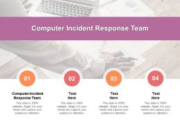 Computer Incident Response Team Ppt Powerpoint Presentation Summary Backgrounds Cpb