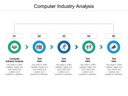Computer Industry Analysis Ppt Powerpoint Presentation Infographics Brochure Cpb