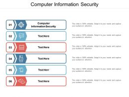 Computer Information Security Ppt Powerpoint Presentation Show Example Cpb