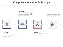 Computer Information Technology Ppt Powerpoint Presentation File Background Designs Cpb