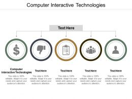 Computer Interactive Technologies Ppt Powerpoint Presentation Infographic Template Infographic Template Cpb