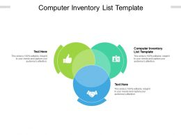 Computer Inventory List Template Ppt Powerpoint Presentation Styles Layouts Cpb