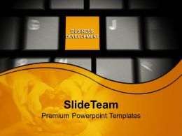 computer_keyboard_with_business_development_powerpoint_templates_ppt_themes_and_graphics_0113_Slide01