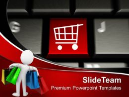 computer_keyboard_with_key_shopping_powerpoint_templates_ppt_themes_and_graphics_0113_Slide01