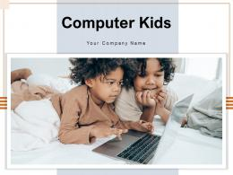 Computer Kids Education Internet Through Attending Device Learning