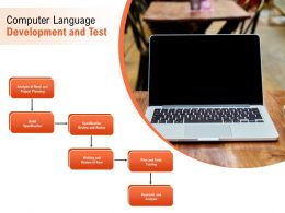 Computer Language Development And Test